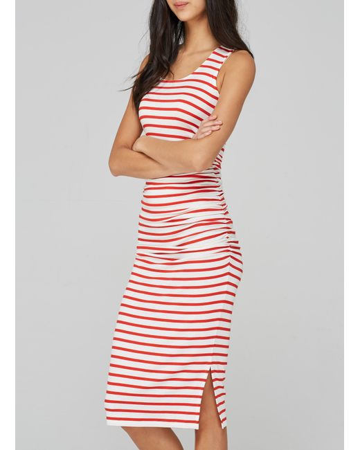 Baukjen - Red Hanna Striped Tank Dress - Lyst
