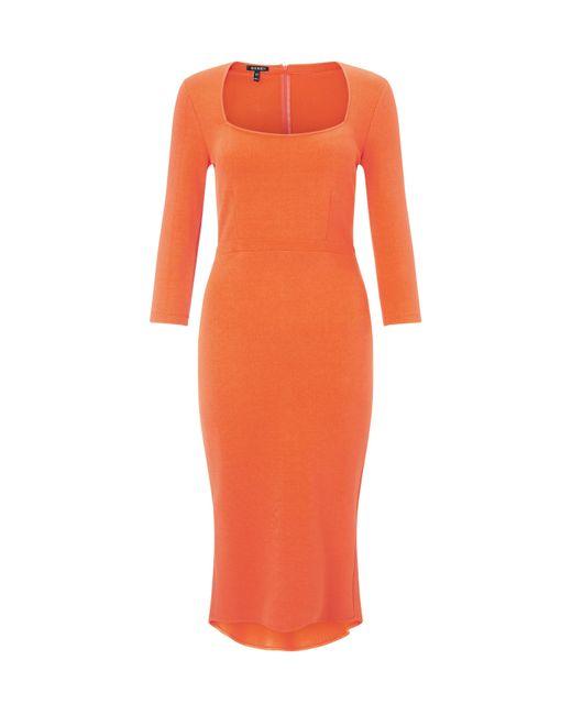 Baukjen - Orange Lexden Kick Dress - Lyst