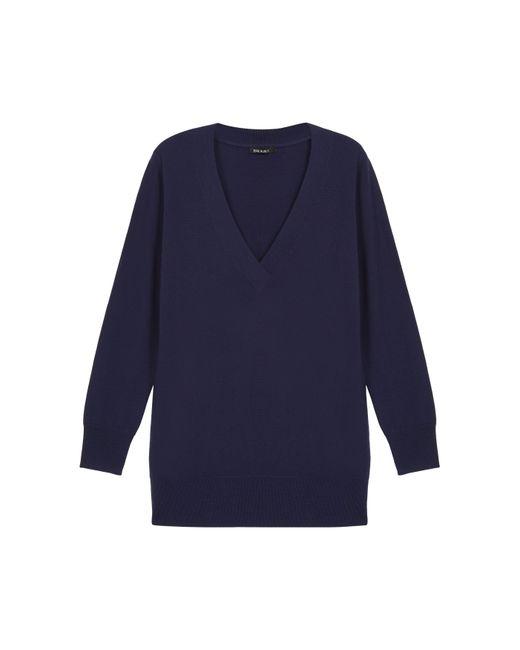 Baukjen - Blue Marlene V-neck Sweater - Lyst