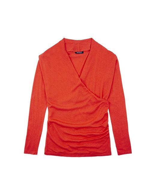 Baukjen | Red Callington Wrap Jumper | Lyst