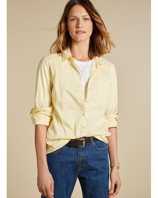 Baukjen - Yellow Penelope Shirt - Lyst