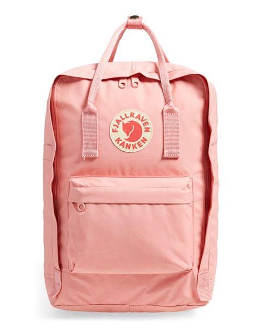 Fjallraven kanken Water Resistant Backpack Purple In
