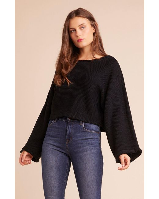 Jack BB Dakota - Black Bb Talk Dropped Sweater - Lyst