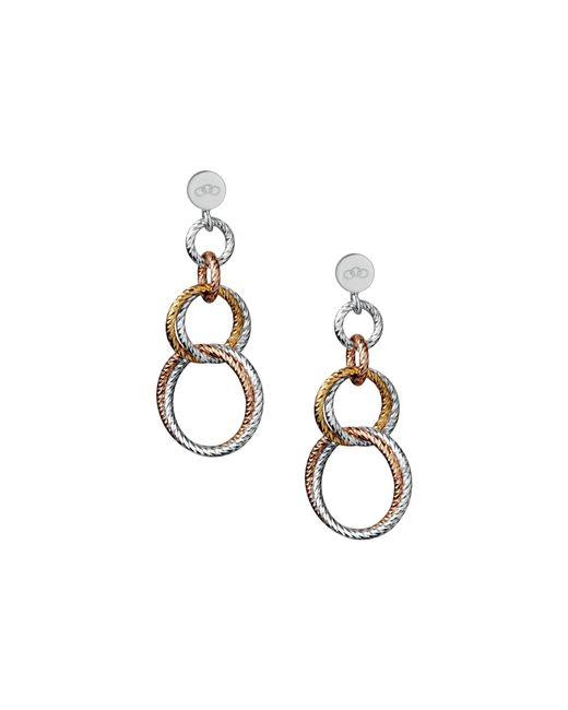 Links of London | Metallic Aurora Double Link Drop Earrings | Lyst