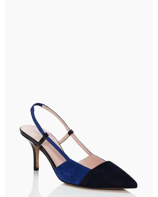 kate spade new york | Blue Jupiter Heels | Lyst