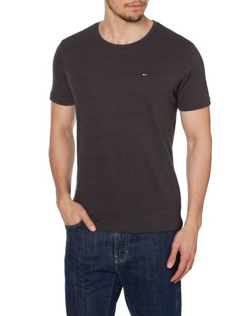 Tommy Hilfiger Hanson Plain Crew Neck Slim Fit T Shirt In