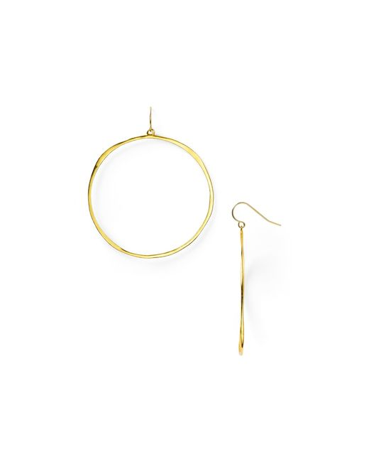 Gorjana | Metallic G Ring Earrings | Lyst