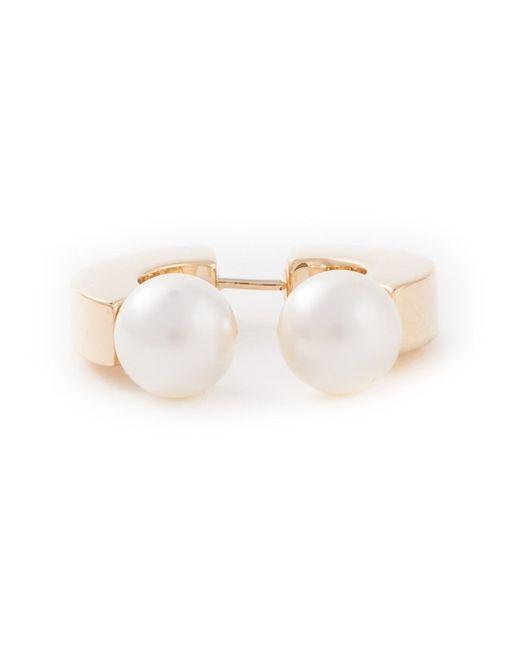 Chloé | White Chloé 'darcey' Earring | Lyst
