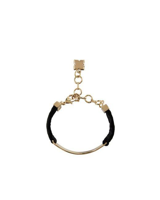 BCBGMAXAZRIA - Black Velvet Bracelet - Lyst