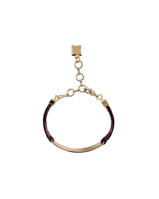 BCBGMAXAZRIA - Multicolor Velvet Bracelet - Lyst