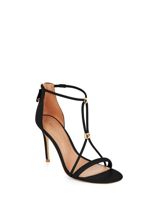 BCBGMAXAZRIA - Black Bcbg Nixie Studded Leather Sandal - Lyst