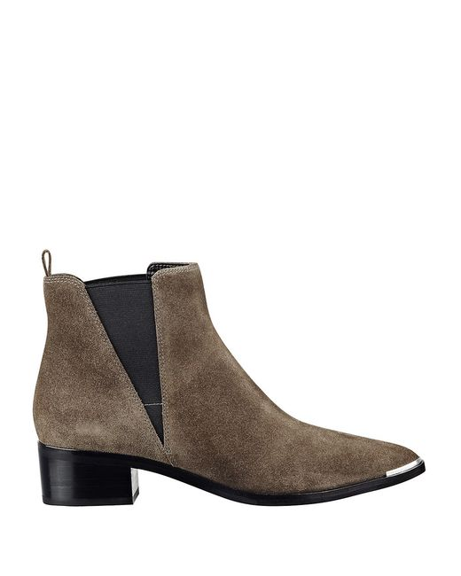 Perfect Tod39s Suede Chelsea Boot In Gray Slate  Lyst