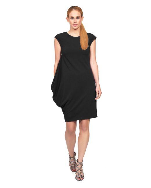 James Lakeland | Black Asymmetric Sleeveless Dress | Lyst