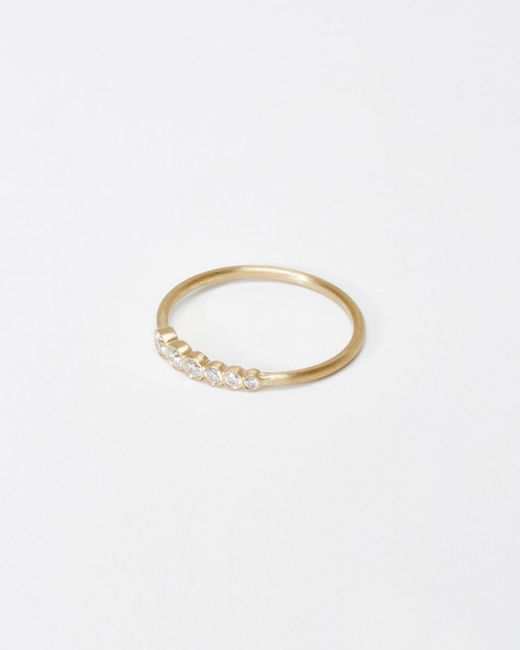 Sophie Bille Brahe | Metallic Pleine De Lune Grand Diamant Ring | Lyst
