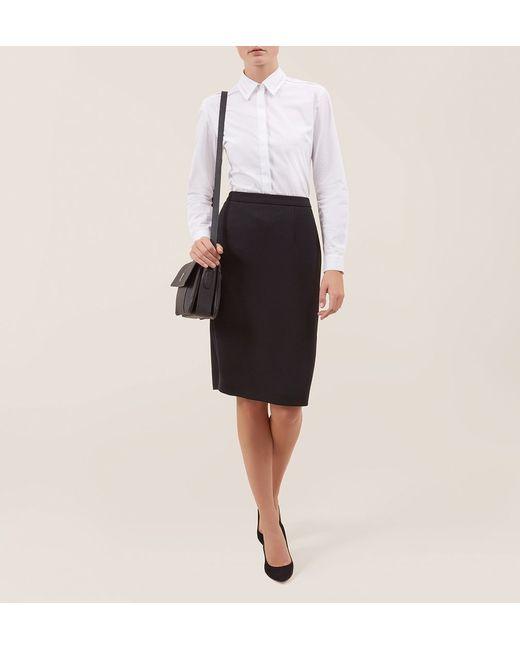 Hobbs   Black Wendy Skirt   Lyst