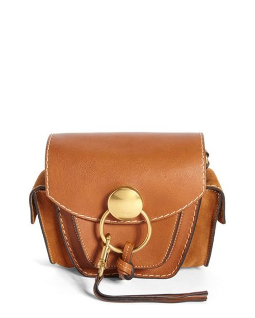 how to spot a fake chloe - Chlo�� \u0026#39;small Jodie\u0026#39; Leather \u0026amp; Suede Camera Bag in Brown (CARAMEL ...