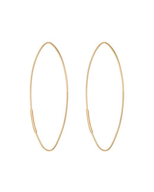 Lana Jewelry | Metallic 14k Straight Magic Large Hoop Earrings | Lyst