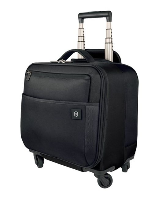 Victorinox | Black Victorinox Swiss Army 'avolve' Wheeled Boarding Tote for Men | Lyst