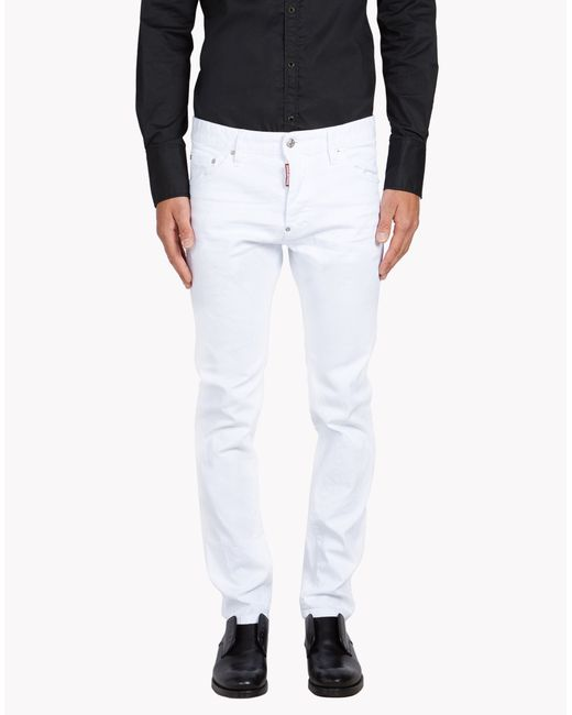 DSquared²   White Cool Guy Jeans for Men   Lyst