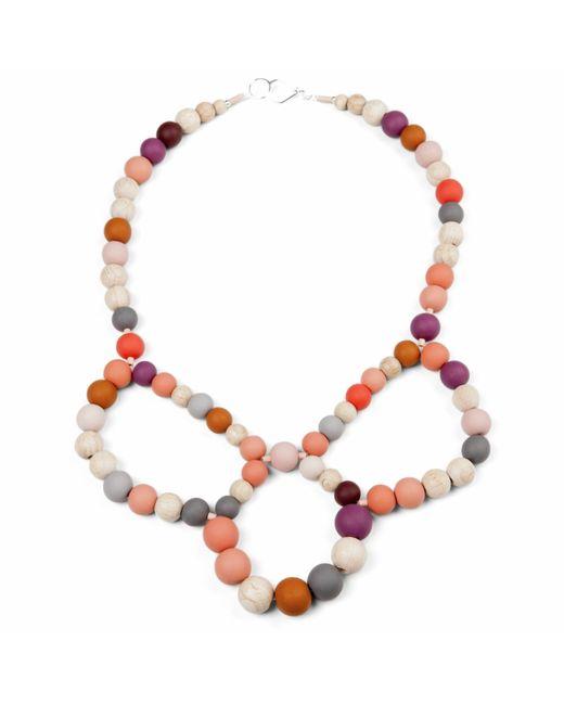 Hring Eftir Hring | Multicolor Ballerina Necklace Sunset | Lyst