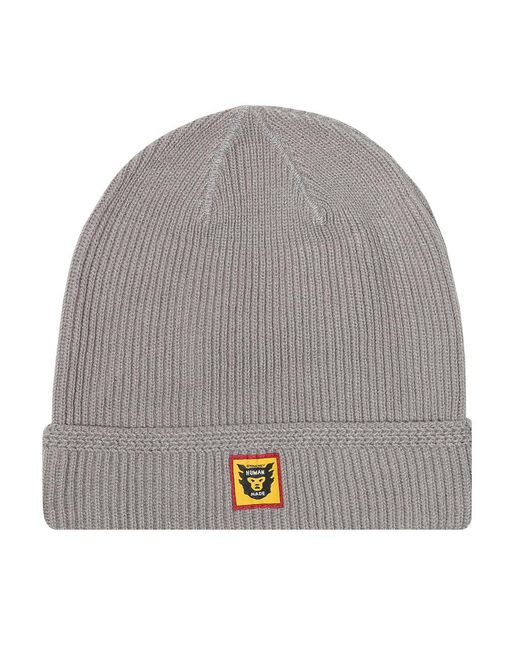 fbce82b9 Human Made - Gray Hmmd Beanie for Men - Lyst ...