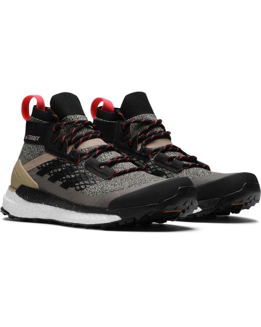 huge selection of 761b0 58909 ... Adidas - Black Terrex Free Hiker for Men - Lyst ...