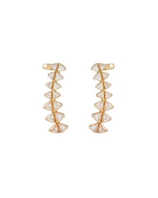 Melinda Maria | Metallic Spencer Ear Cuff | Lyst