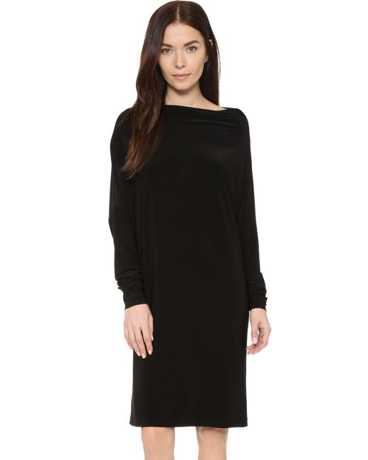 Norma Kamali | Black Kamali Kulture All In One Dress | Lyst