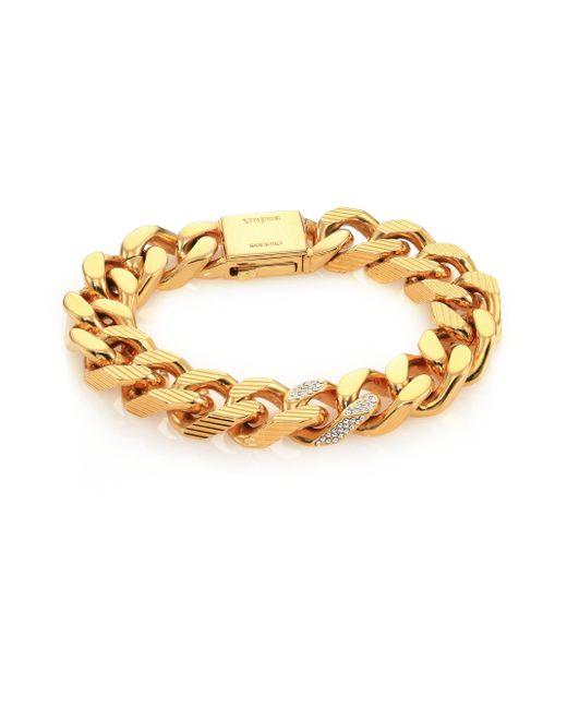 Vita Fede | Metallic Franco Crystal Link Bracelet | Lyst