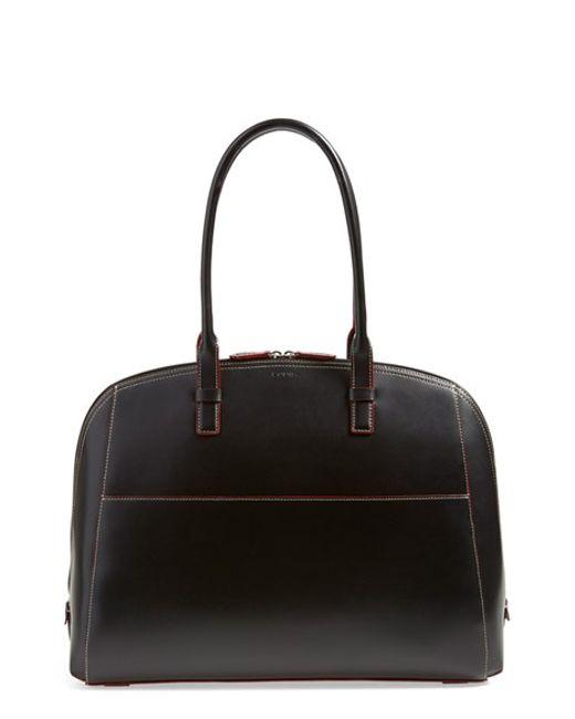 Lodis | Black 'audrey Collection - Buffy' Leather Shoulder Bag | Lyst