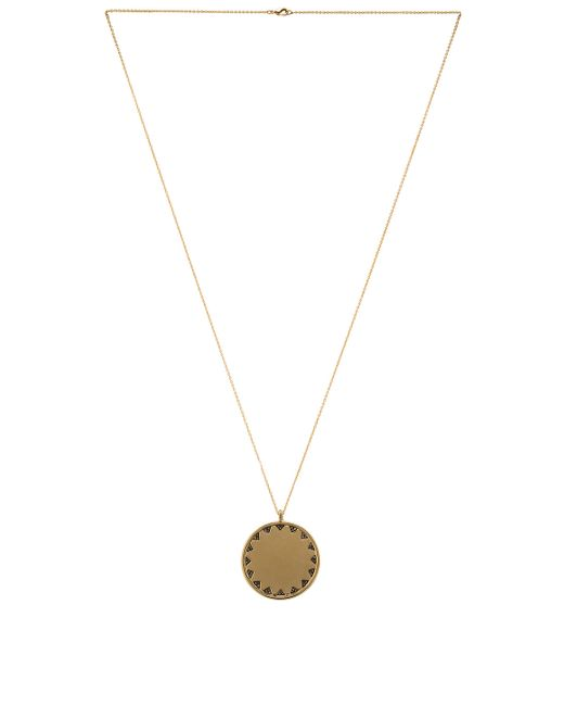 House of Harlow 1960 | Metallic House Of Harlow Incan Sun Coin Pendant Necklace | Lyst