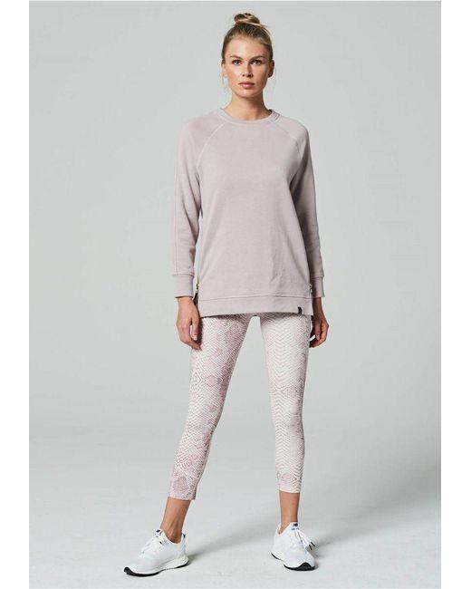 Varley - Pink Manning Sweatshirt Sepia Rose - Lyst