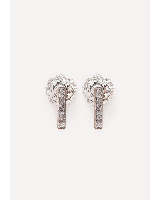 Bebe | Metallic Fireball Earrings | Lyst