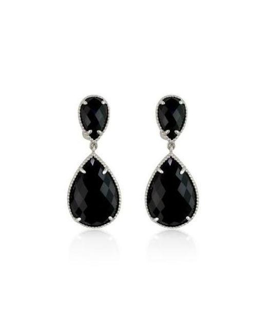 Effy Black Onyx Drop Earrings In Sterling Silver Lyst