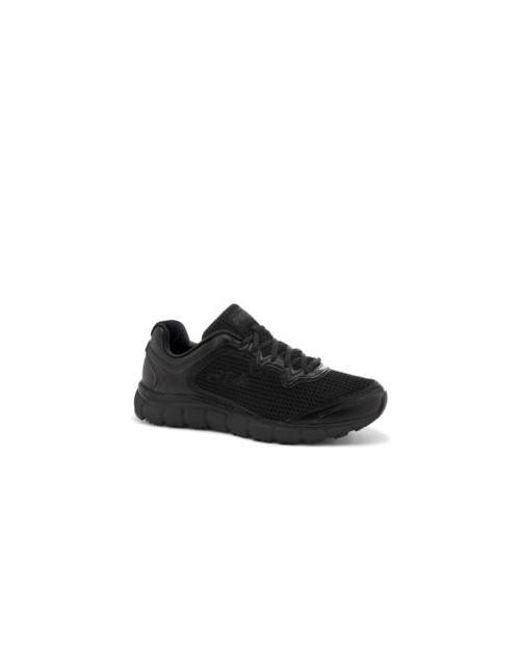 54b0df451806 Lyst - Fila Women s Memory Fresh Start Slip Resistant Work Shoe in Black