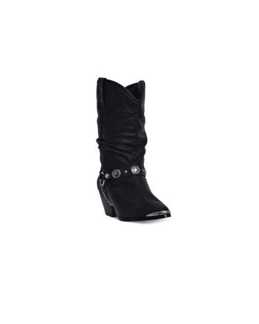 3b6eed643de Lyst - Dingo Olivia Boots in Black