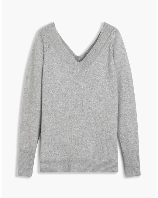 Belstaff | Gray Skylar V Neck Woman | Lyst