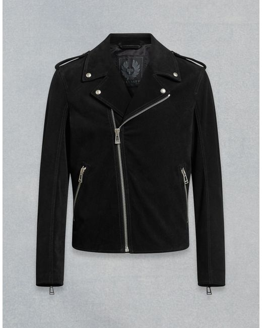 1161ffc1b5f Belstaff - Black Edmunds Biker Jacket for Men - Lyst ...