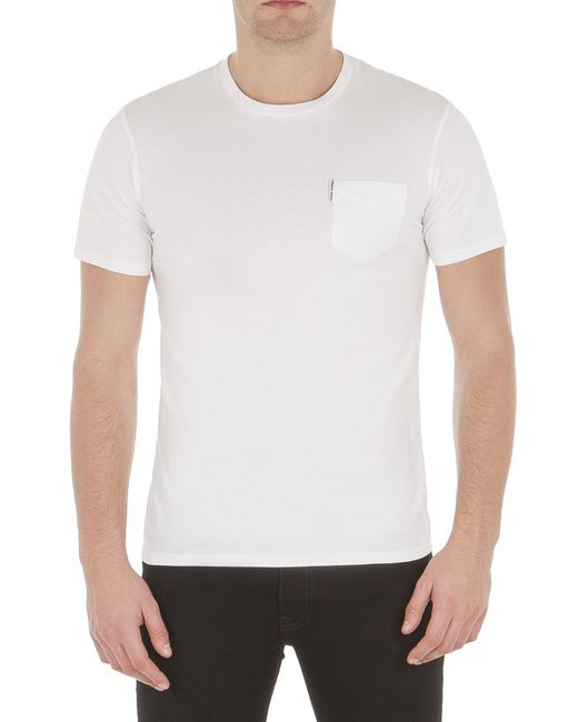Discount Wide Range Of Sale The Cheapest Mens Plain Pocket Crew Tee T-Shirt Ben Sherman Cheap Footaction Really For Sale Cheap Sale 100% Original JQaa0Mg