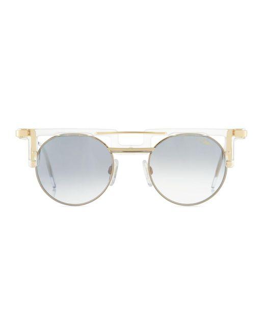 6ecf7b21df3c ... Cazal - Multicolor Men s Round Gradient Acetate metal Sunglasses for  Men ...
