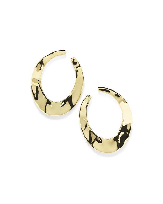 Ippolita - Metallic 18k Sensotm Open Hoop Earrings - Lyst