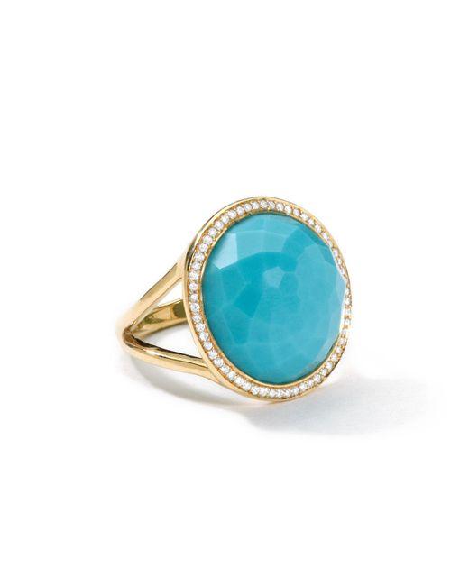 Ippolita - Blue Small Round Lollipop Ring - Lyst