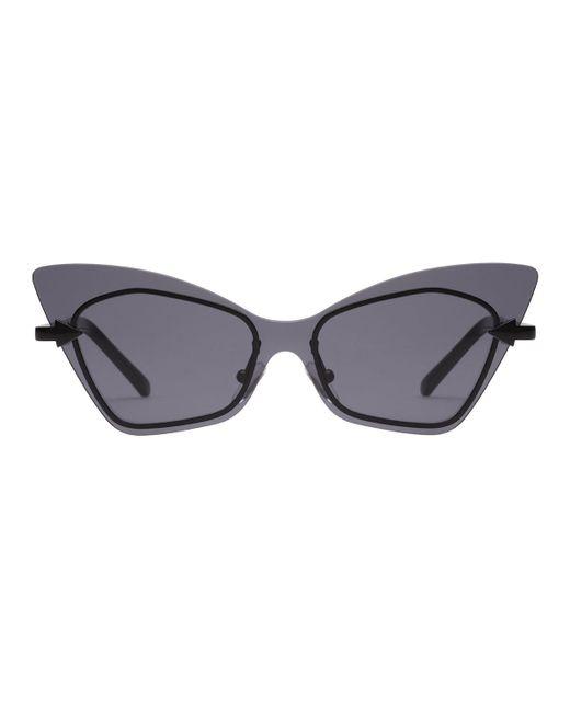 9d11fd195b46 ... Karen Walker - Multicolor Mrs. Brill Cat-eye Semi-rimless Sunglasses -  Lyst