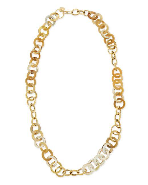 Ashley Pittman | Metallic Mawani Light Horn & Bronze Necklace | Lyst