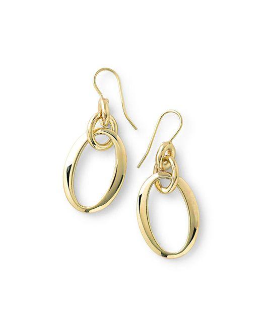 Ippolita | Metallic 18k Glamazon Short Oval Link Earrings | Lyst