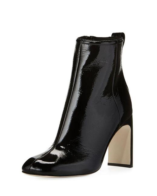 Rag & Bone - Black Ellis Patent Leather Ankle Boots - Lyst