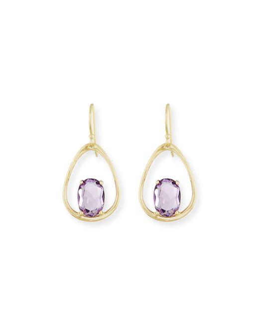 Ippolita - Multicolor 18k Rock Candy Wire Earrings - Lyst