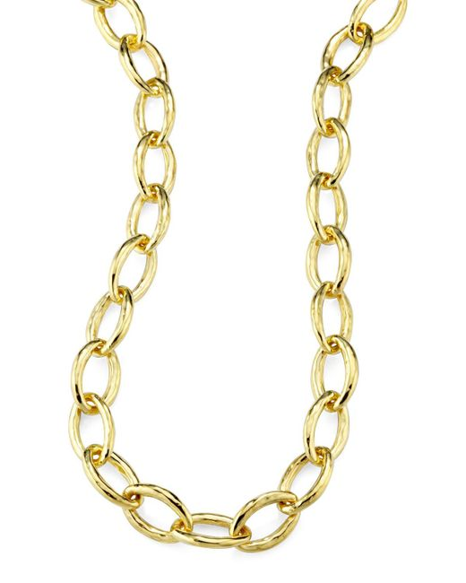 Ippolita - Metallic Glamazon 18k Gold Mini Bastille Necklace - Lyst