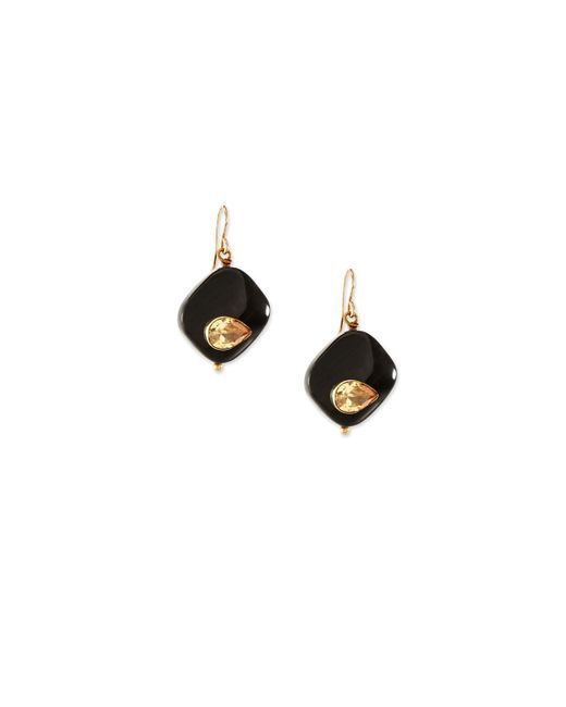 Ashley Pittman - Multicolor Sanamu Dark Horn Mini Drop Earrings - Lyst
