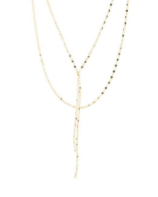 Lana Jewelry - Metallic Bond Petite Nude Blake Necklace - Lyst